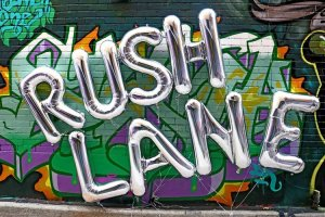 Layers of Rush Lane