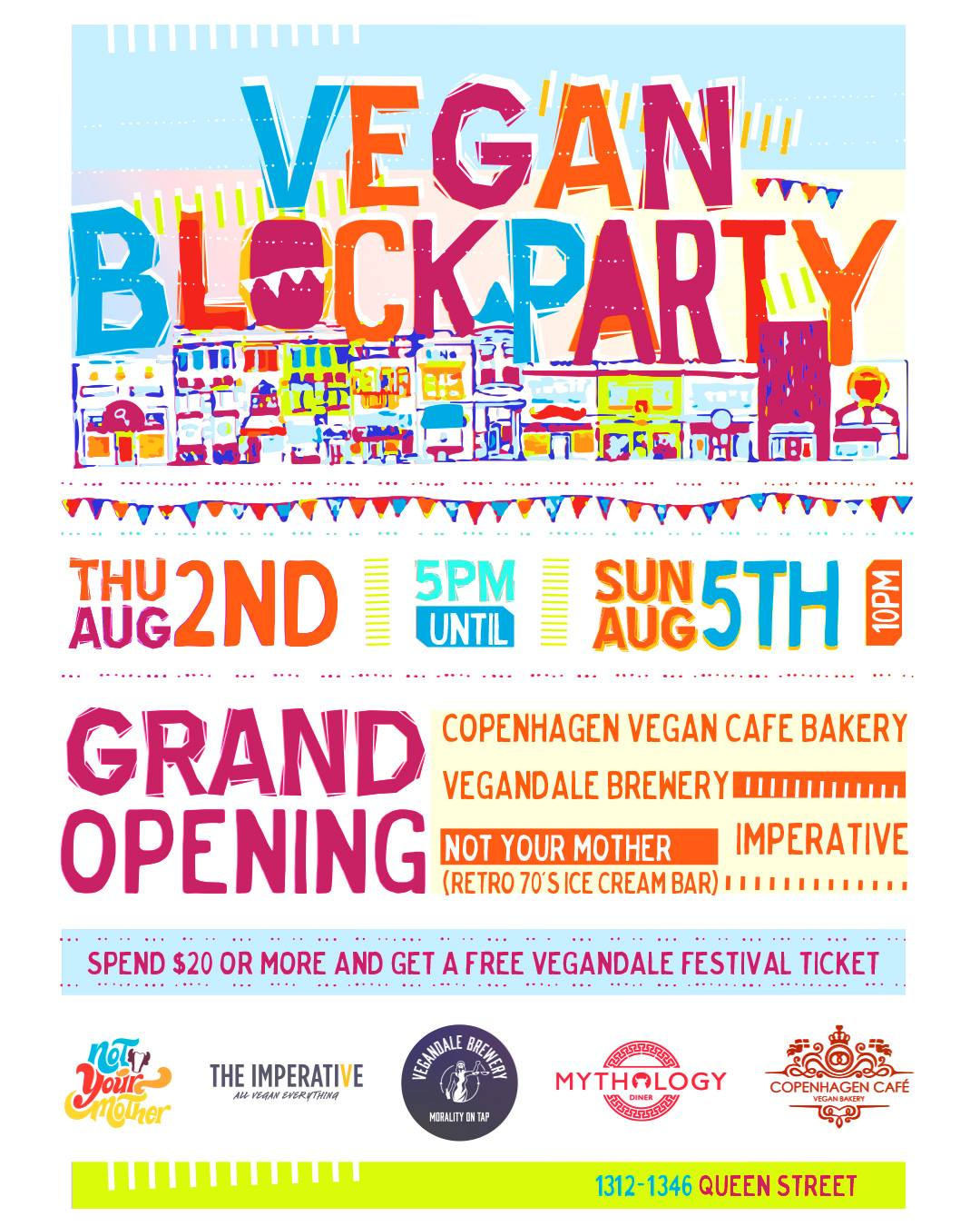 Toronto Vegan Block Party