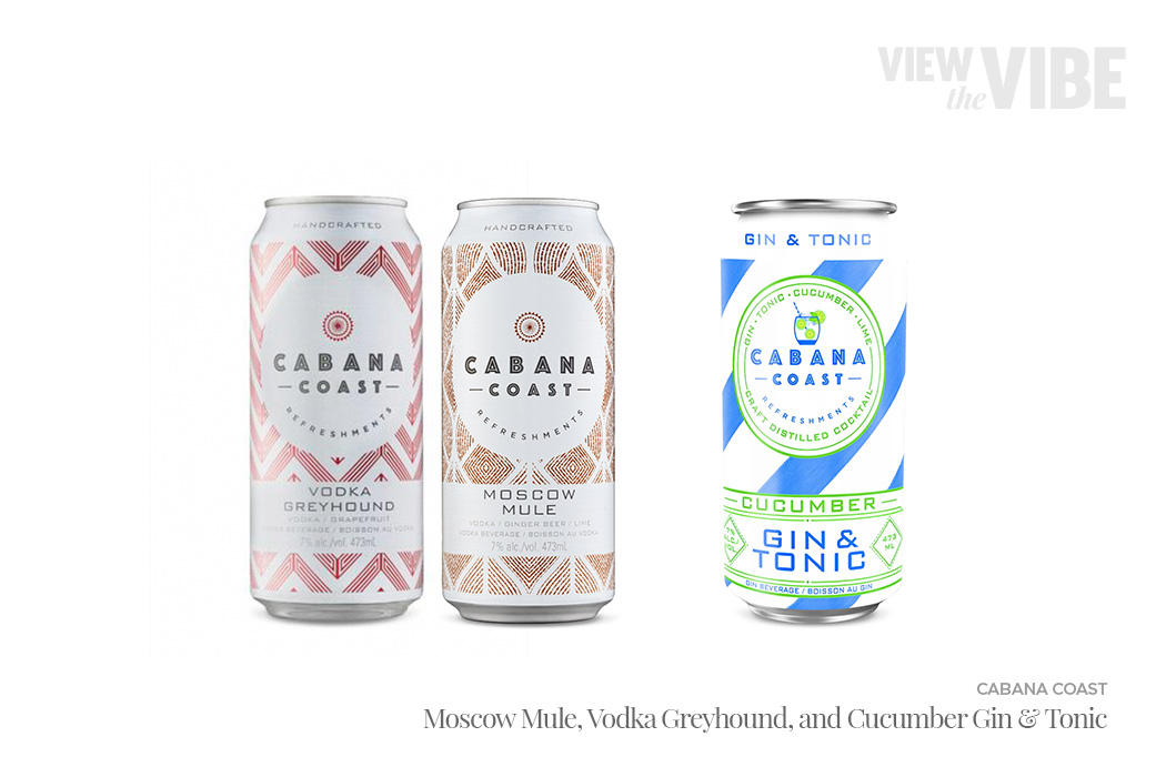 Cabana Coast Ready-to-Drink Cocktails | View the VIBE Toronto