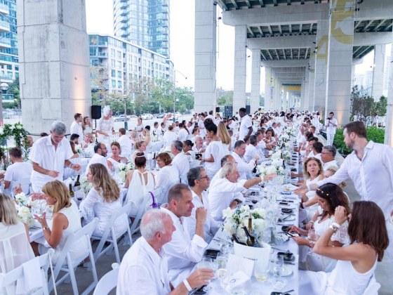 Dîner/Diner/Dinner en Blanc Toronto | Ryan Emberley | View the VIBE Toronto