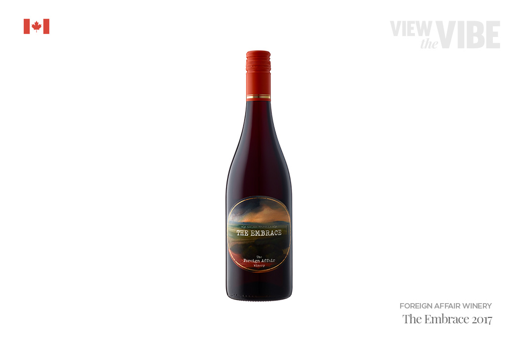 Foreign Affair Winery The Embrace 2017 Pinot Noir, Ontario - LCBO - National Pinot Noir Day   View the VIBE Toronto