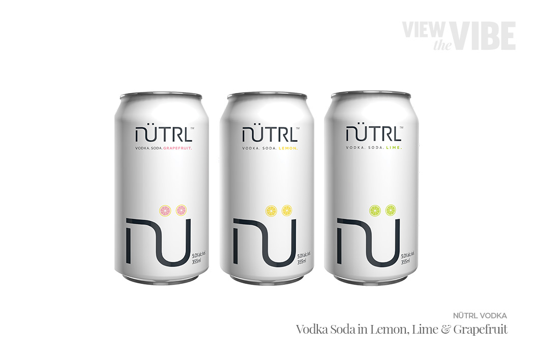 Nutrl Voda Soda Ready-to-Drink Cocktails | View the VIBE Toronto