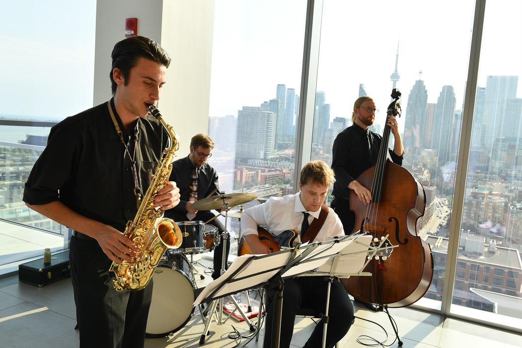 The Luke Newman Quartet - Epilepsy Toronto Amari Soiree | View the VIBE Toronto