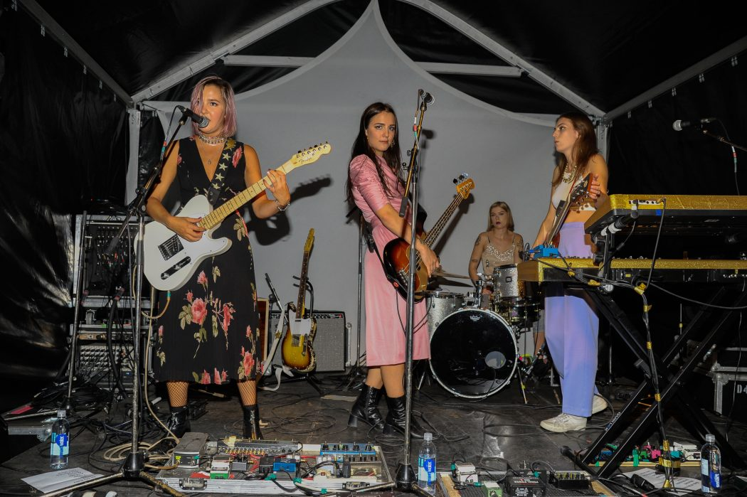 Alternative Rock Band The Beaches attends the Mongrel Media Celebrates TIFF At Mongrel House (Photo: Che Rosales/Getty Images for Mongrel Media) | View the VIBE