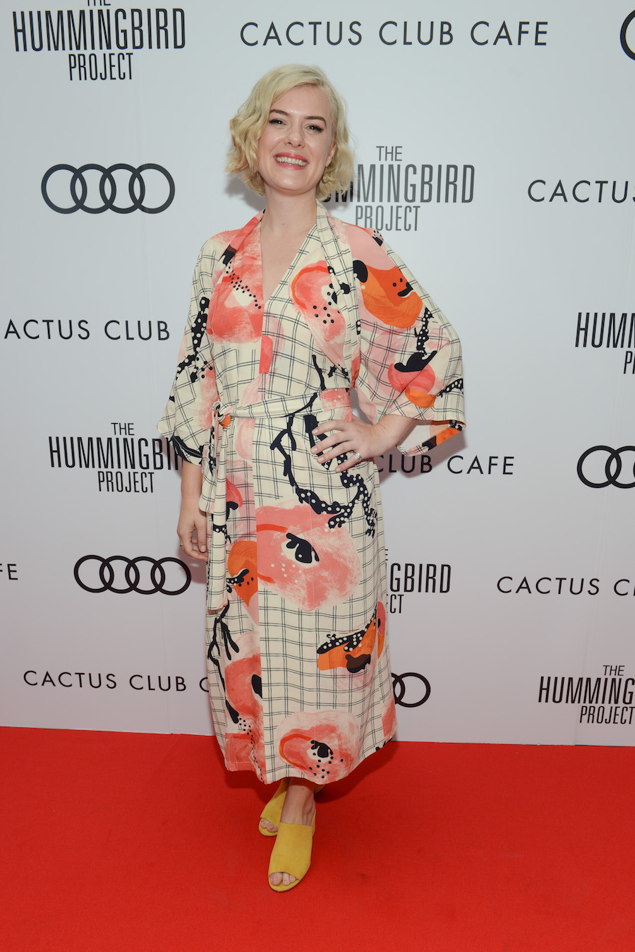 Anna Maguire at 'The Hummingbird Project' premiere party hosted by Cactus Club Cafe at First Canadian Place. (Photo: George Pimentel/Getty Images for Cactus Club Cafe) | View the VIBE