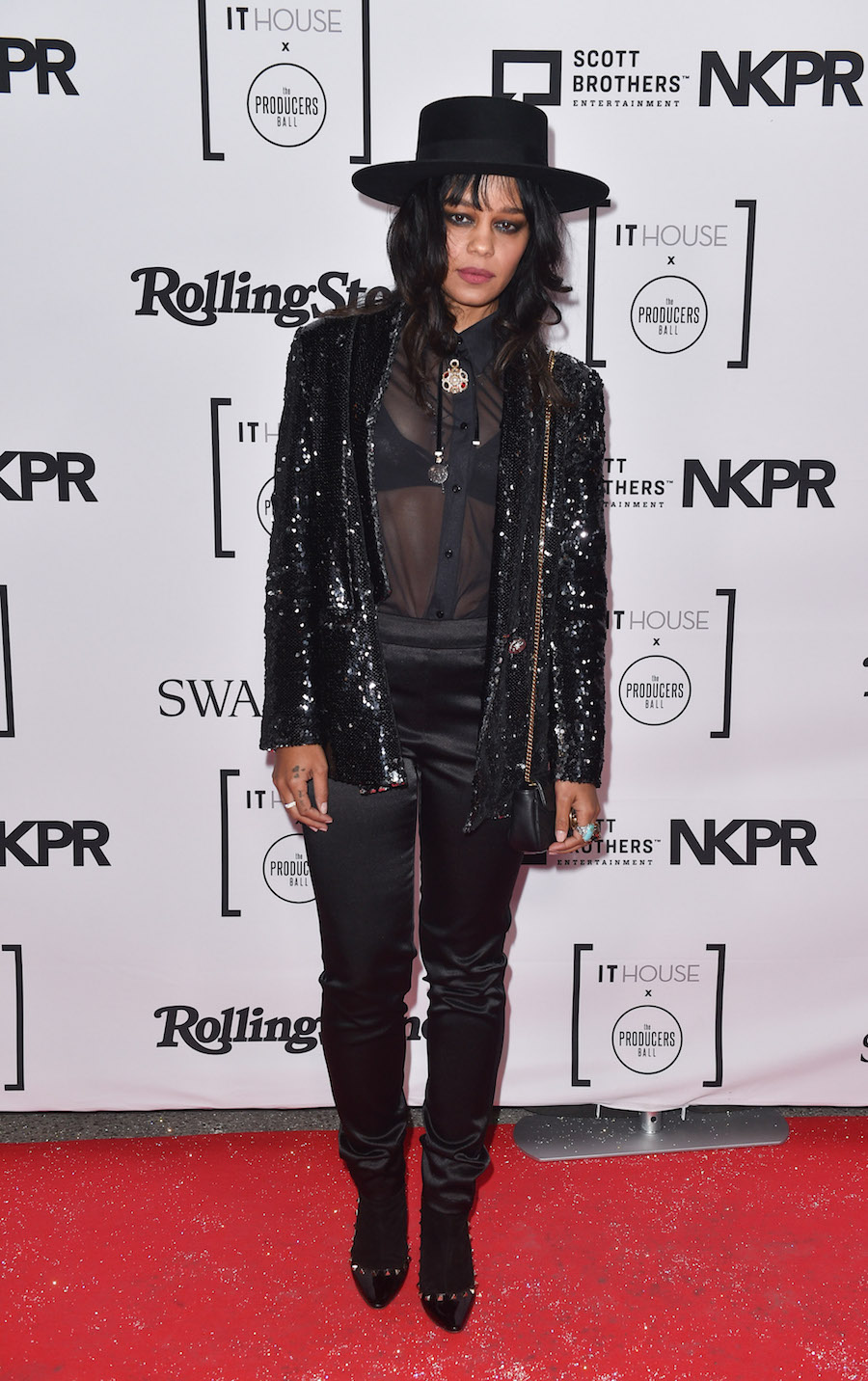 Fefe Dobson at the IT House x Producers Ball (Photo: Courtesy of NKPR) | View the VIBE