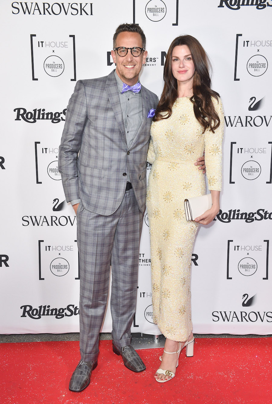 Noah Cappe & Keri West at the IT House x Producers Ball (Photo: Courtesy of NKPR)