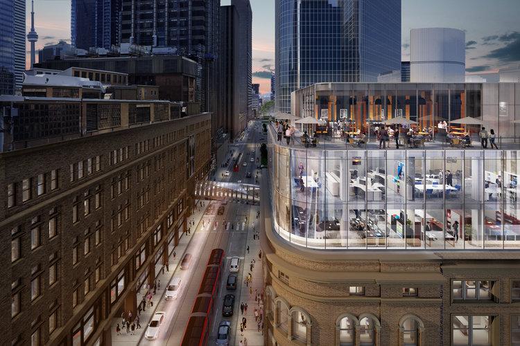 CF Toronto Eaton Centre - New Restaurant Expansion