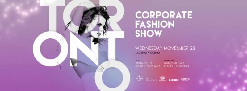 Toronto Corporate Fashion Show