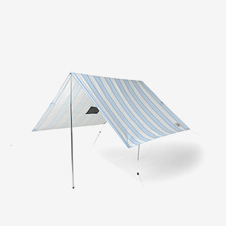 goop Riviera Striped Beach Tent - View the VIBE
