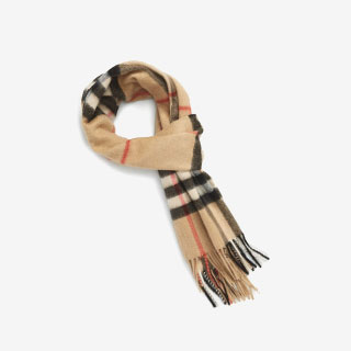 Burberry Heritage Check Cashmere Scarf - View the VIBE