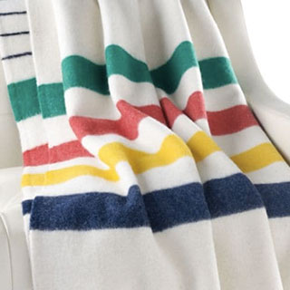 Hudson's Bay Iconic Point Blanket Multistripe - View the VIBE