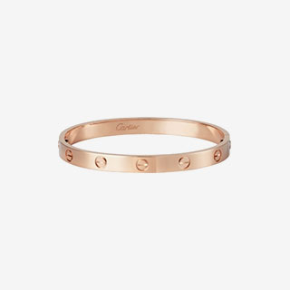 Cartier Love Bracelet Pink Gold - View the VIBE