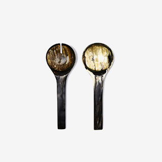 Ankole Horn Serving Spoon Set - View the VIBE