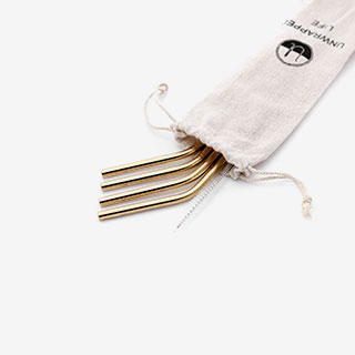 Reusable Stainless Steel Straws - View the VIBE