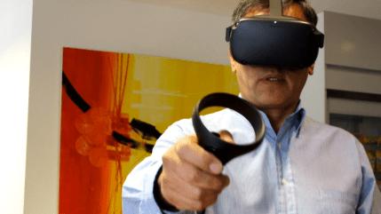 Aplicación interactiva realidad virtual