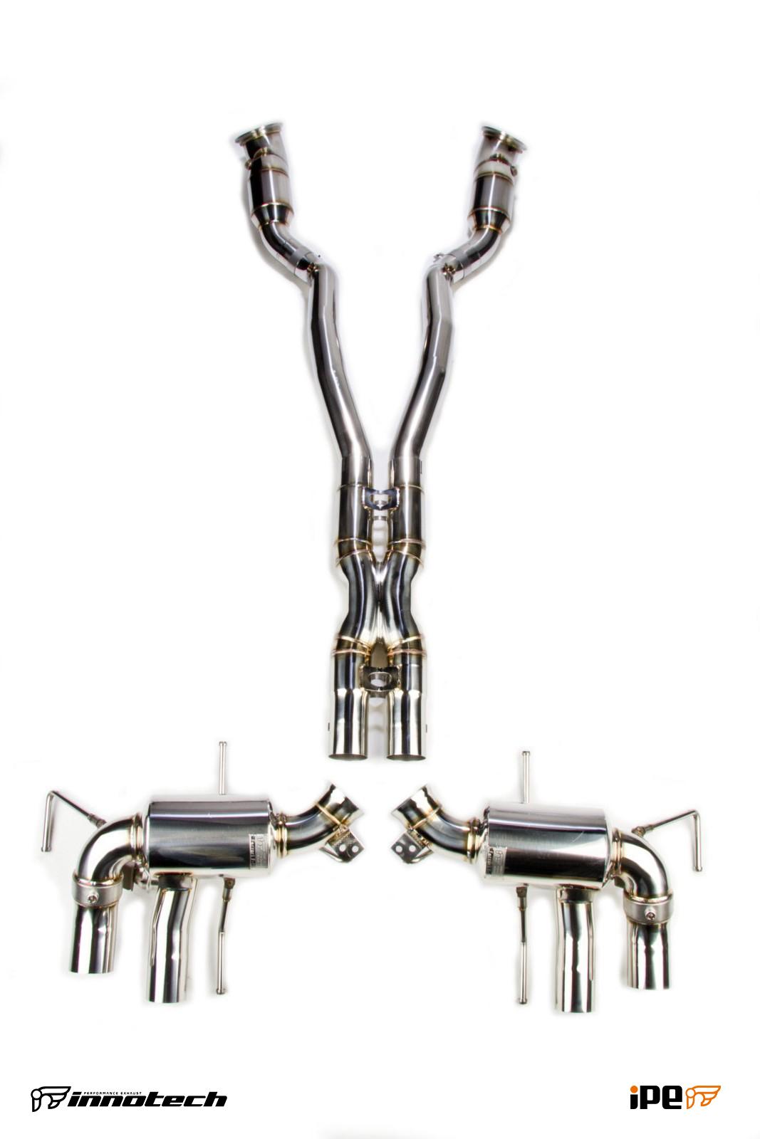 Ipe Ferrari F12 Exhaust System
