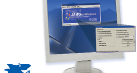 Jaws talking software leads to new job