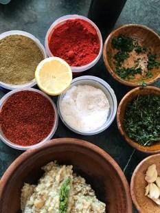 Spices for Eggplant Caviar