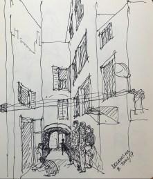 Painter in Essaouira
