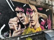 Street Art on Side of Building