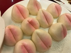 Lucky Peach Steamed Buns