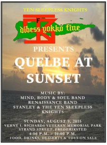 QUELBE AT SUNSET AD