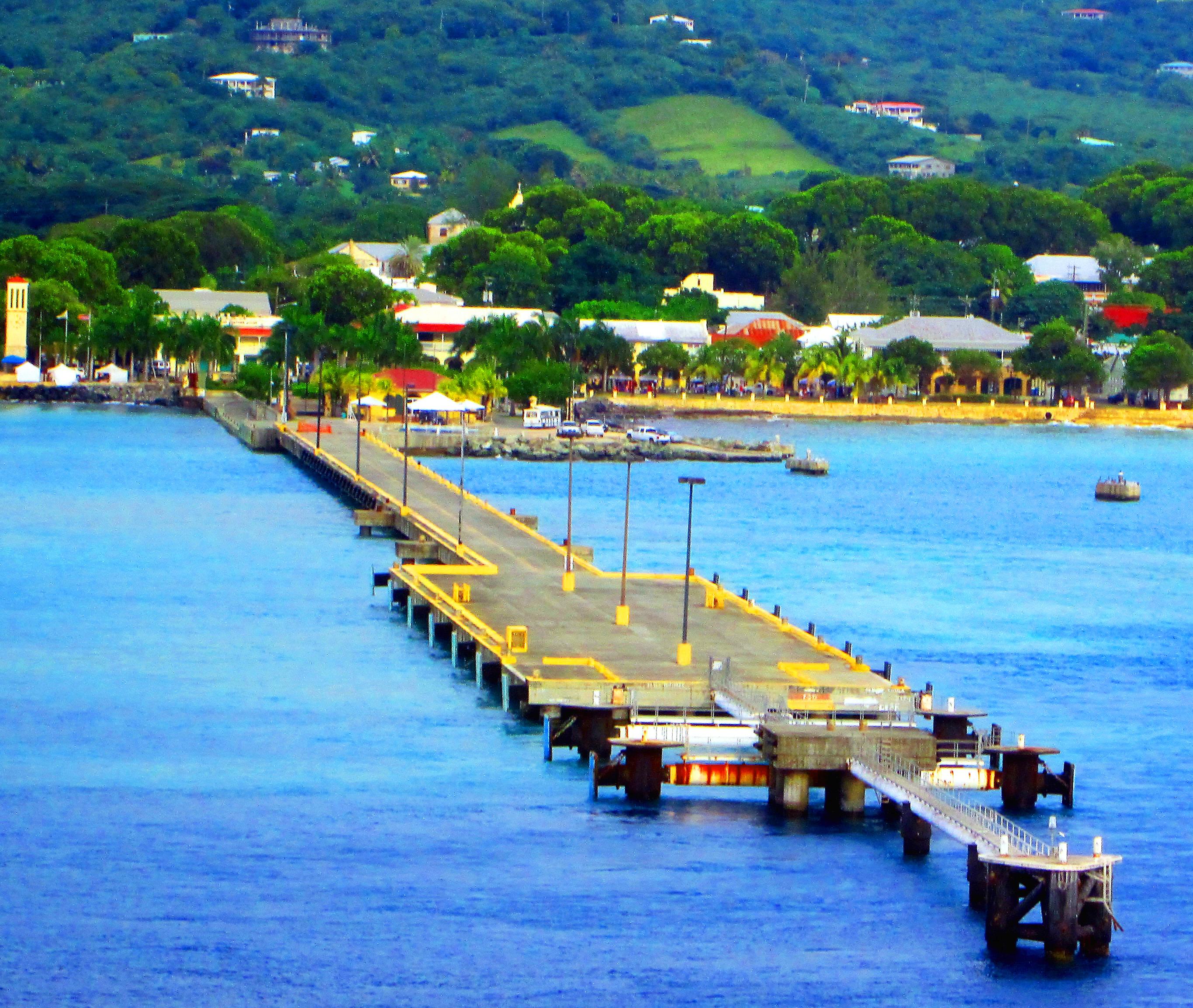 St Croix The Virgin Islands Big Dock