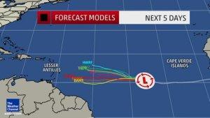 tropical storm danny 2