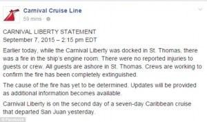 carnival liberty statement