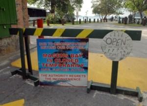 magens bay closed
