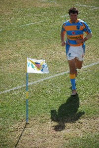 USVI Rugby Captain Joe Brugos takes the field Credit K Grimes