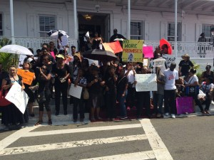 teachers protest STT large
