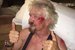 richard branson hurt