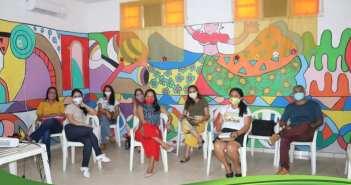 Ações de capacitações on line para a eequipe da Rede Socioassistencial de Vigia de Nazaré