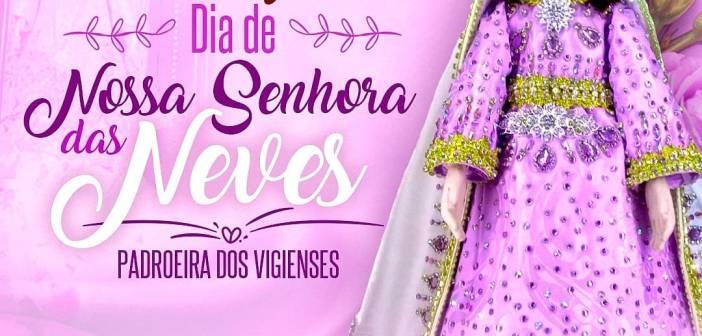 Vigia de Nazaré celebra hoje o dia da padroeira do município