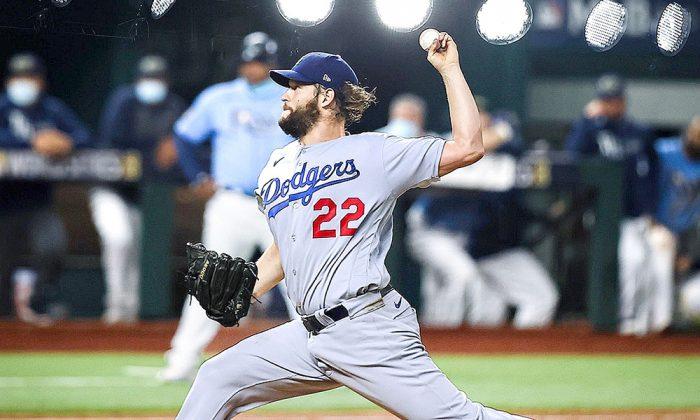 Kershaw, Muncy y Pederson colocan a los Dodgers a un paso del título