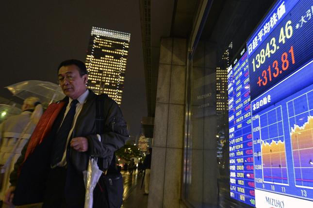 El Nikkei pierde un 0,44 % contagiado por Wall Street