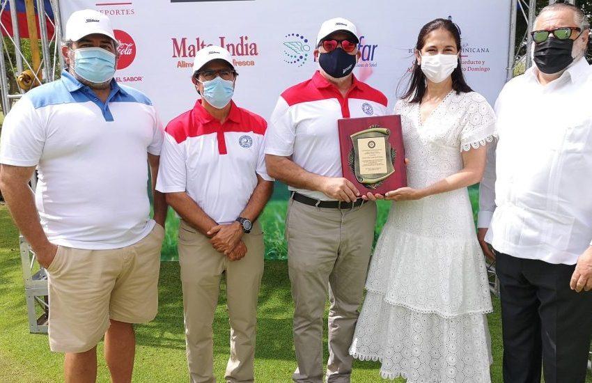 """Maribel Haché, hija de Kalil: """"El golf cautivó a mi papá"""""""