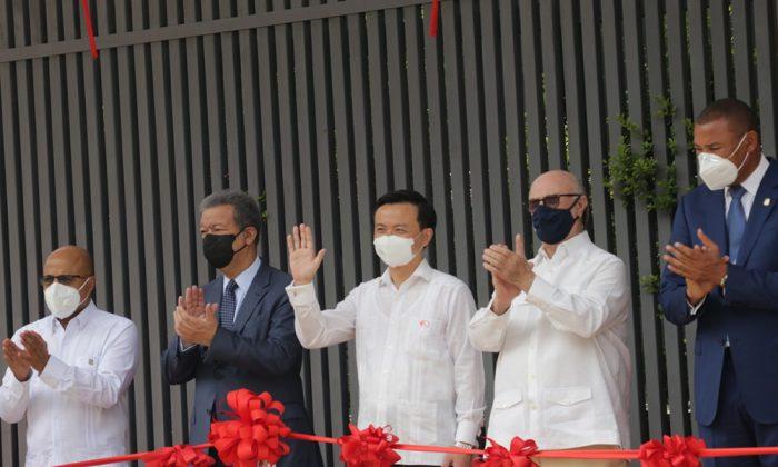La República Popular China inaugura nueva sede en el país