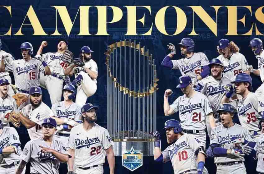Los Dodgers se coronan campeones mundiales al vencer a los Ray