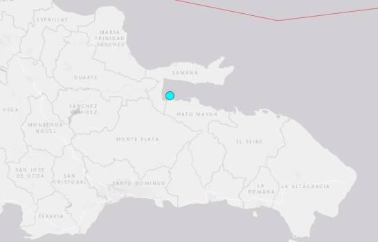 Temblor de 4.8 grados sacude la bahía de Samaná