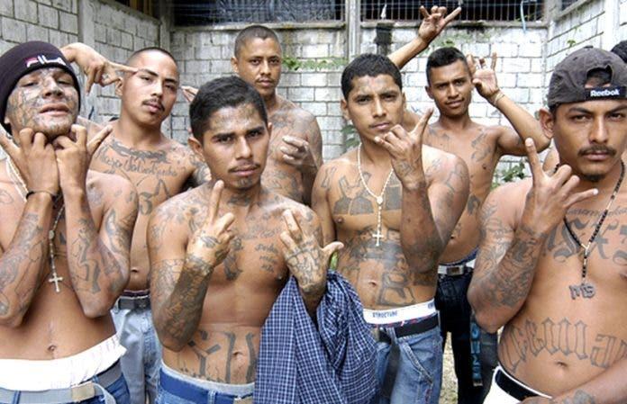 En El Salvador van a cárcel 572 pandilleros