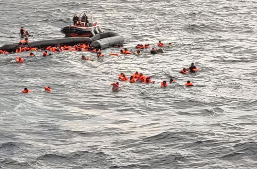 Mueren 7 migrantes en naufragio cerca de una isla española