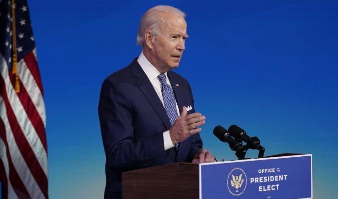 Joe Biden dice a EU aun les esperan días más oscuros por Covid