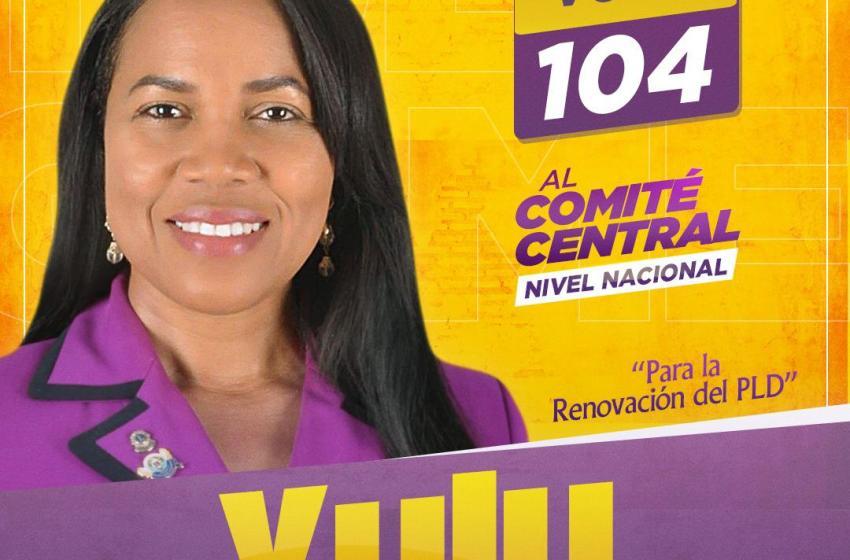 Yuly Gómez lanza candidatura al Comité Central del PLD