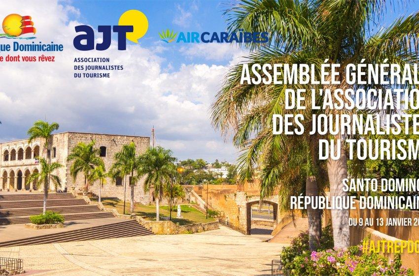 Santo Domingo será anfitriona de honor de la Asamblea General Anual de la Asociación de periodistas turístico de Francia (AJT)