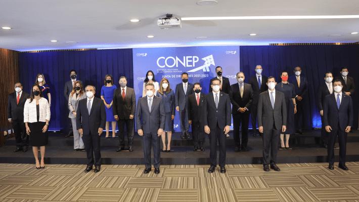 Conep presenta nueva junta de directores 2021-2023
