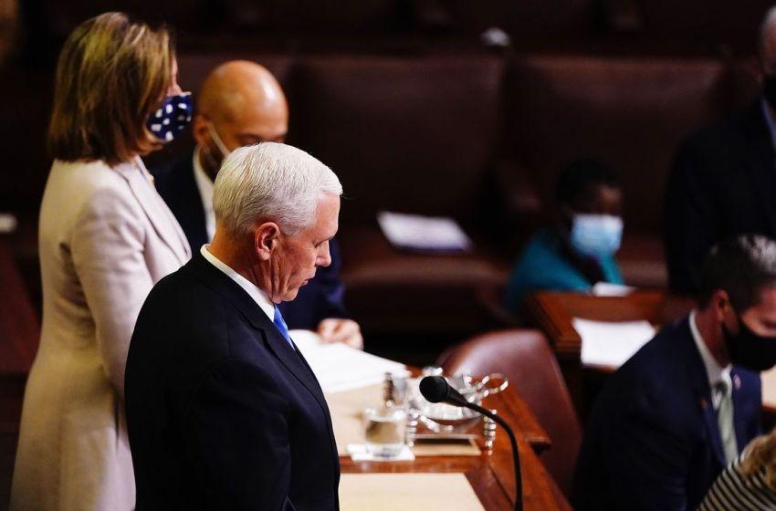 El Congreso de EE.UU. valida el triunfo de Biden y Trump acepta la transición