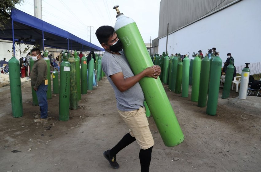 La falta de oxígeno médico castiga a África y Latinoamérica